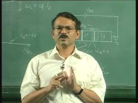 Lecture-31-Bipolar Juncction Transistor(Contd)