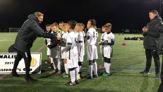 STA soccer versus ironbound…State cup soccer game