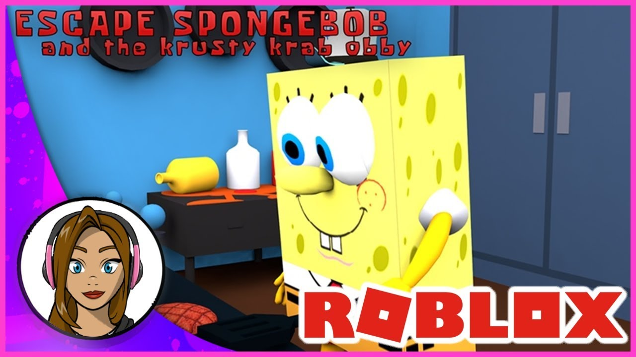 Escape the Krusty Krab and Spongebob Obby! Roblox Gameplay