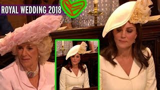 Camilla is frightened by the cruel eyes of Kate Middleton brought to in Meghan's royal wedding