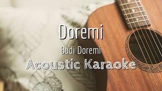 Doremi - Budi Doremi - Acoustic Karaoke