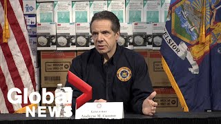 Coronavirus Outbreak: Ny Governor Blasts Federal Government Over Covid-19 Action Plan