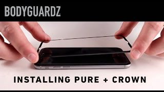 ScreenGuardz Pure® + The Crown Installation video for iPhone 6 / 6 Plus