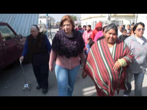 CAMINANDO CON LAS MUJERES  DE LAS SABINITAS  EN GUADALUPE NUEVO LEON