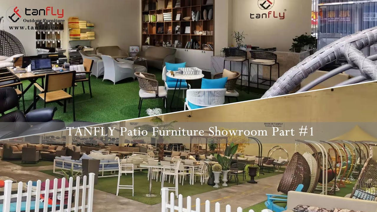 TANFLY Patio Furniture Showroom Part #1 - YouTube
