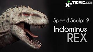 Speed Sculpt #9a Indominus Rex part 1