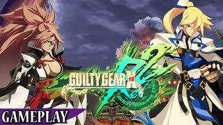 Guilty Gear Xrd REV 2 - Primeros minutos / Gameplay en español: El auténtico rey de la lucha (PS4)