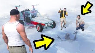 WHAT HAPPENS IF THE ALIEN CAR MEETS THE ALIEN? (GTA 5)