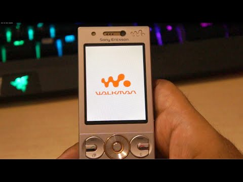Sony Ericsson W705 Walkman phone review 2016 (7 year old phone)