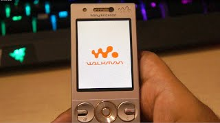 Sony Ericsson W705 Walkman phone review 2016 (7 year old phone)