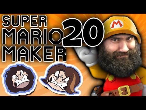 Super Mario Maker: Expert Trolling - PART 20 - Game Grumps