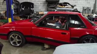 Red 1991 Mustang LX 5.0 5-Speed Coupe