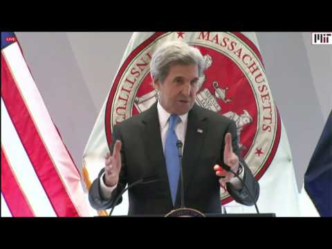 Secretary Kerry's Address on Climate Change at MIT