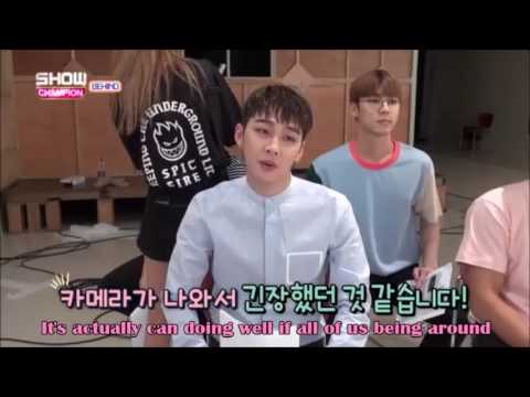 [SUBS] MADTOWN ShowChampion Fan Attack Behind The Scene Full