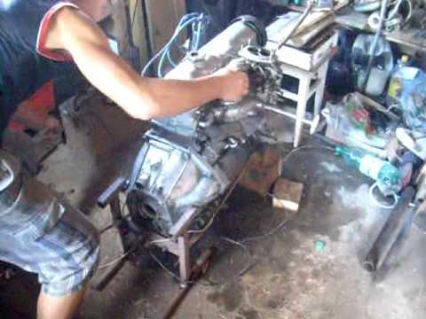 Двигатель Ваз 2105 С Ремнем После Капиталки - YouTube