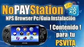 NoPayStation NPS Browser para PC PSVITA - Tutorial COMPLETO FACIL