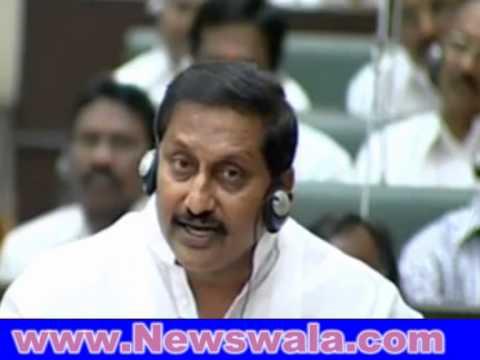 Akbaruddin Owaisi vs Kiran Kumar Reddy at Legislative Assembly
