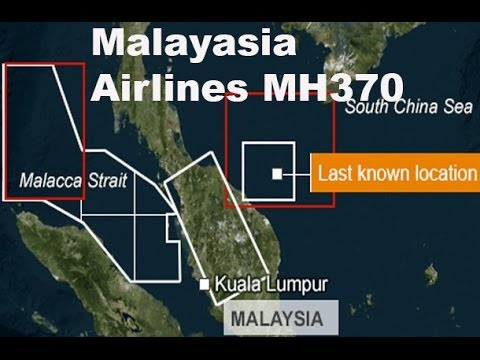 Malaysia Airlines Flight MH370 missing  full update (8/3/14 to 14/3/14)
