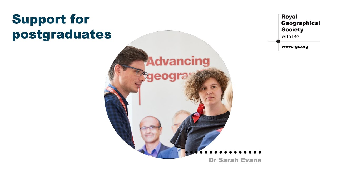 Support for postgraduates from the RGS-IBG
