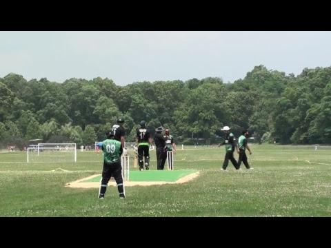 Greenline Independence Cup: Pakistan First vs Newark CC (Newark CC batting)