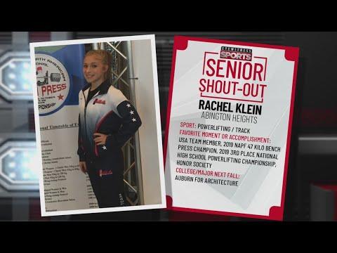 Senior Shout Out Rachel Klein