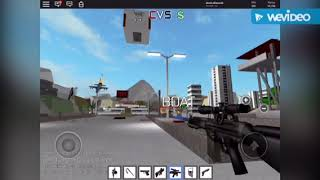 This how the pro play (ROBLOX CRIMINAL VS SWAT)