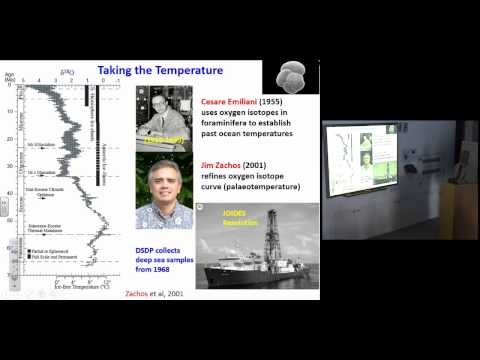 Colin Summerhayes:  Earth's Climate Evolution- a Geological Perspective   03 June 2015-