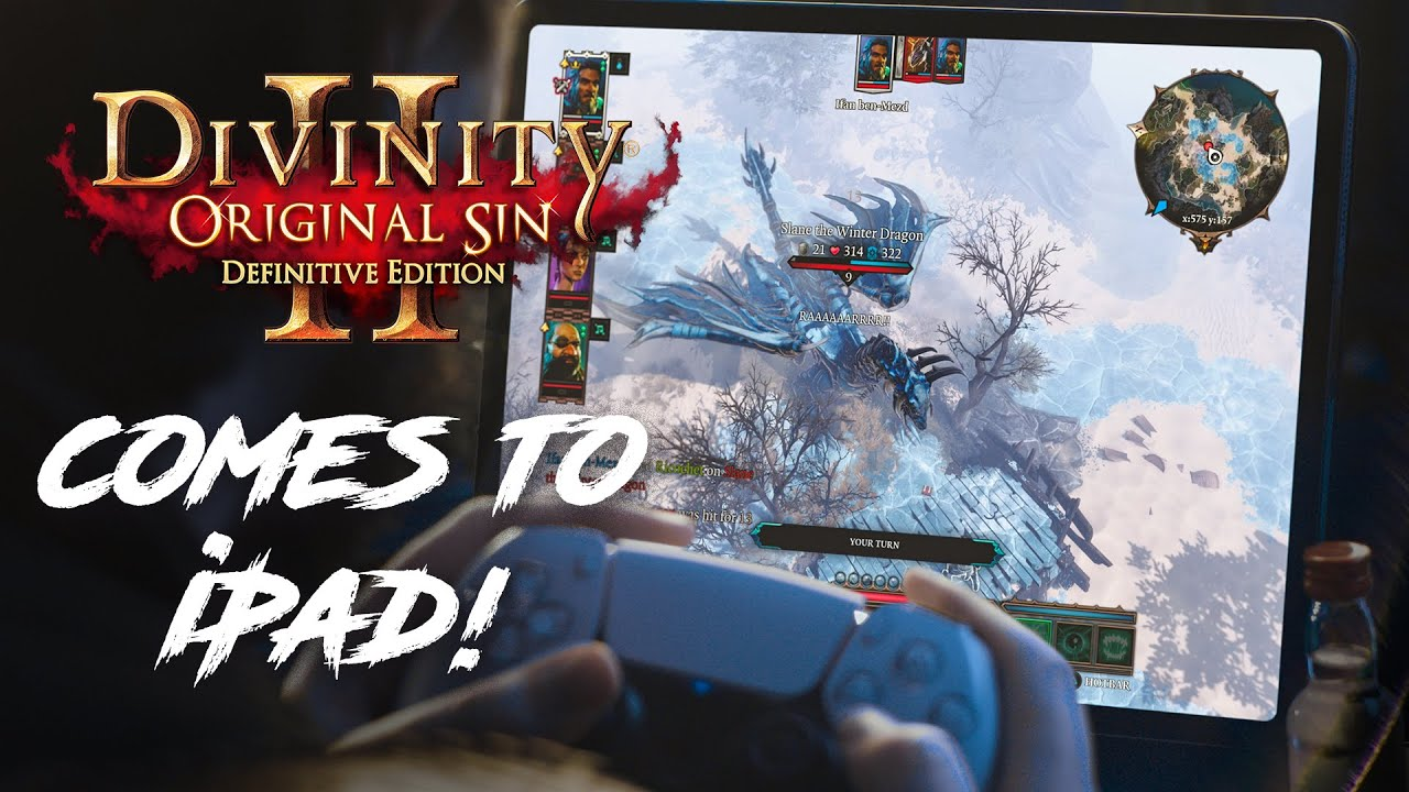 Made to be played. Divinity: Original Sin 2 out NOW on iPad!