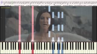 Люди не верили - Бузова Ольга (Ноты и Видеоурок для фортепиано) (piano cover)