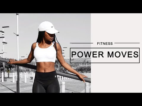 FITNESS POWER MOVES | SOUTH AFRICAN YOUTUBER