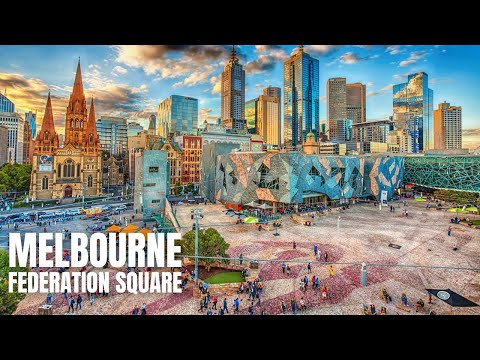 Federation Square Melbourne To Melbourne Central Walking Tour【2019】