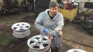 """Как покрасить диски в  аля - """"ТИТАН""""?!"""