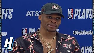 Russell Westbrook Postgame Interview - Game 4 | Lakers vs Rockets | September 10, 2020 NBA Playoffs