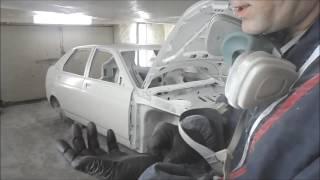 Кузовной ремонт Приоры. Финальная часть - окраска и результат(В начале года ремонтировал данное авто, от правки и сварных работ, до окраски. Файл по покраске никак не..., 2016-09-29T15:53:04.000Z)