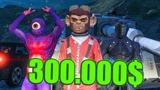 Ich habe mich für 300.000$ in einen AFFEN VERWANDELT | GTA 5 Online