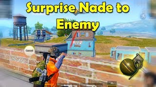 Surprise nade to the Eemey - PUBG Mobile