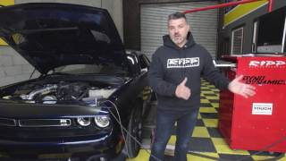 2015 8spd V6 3.6 Dodge Challenger Dyno - RIPP Supercharged