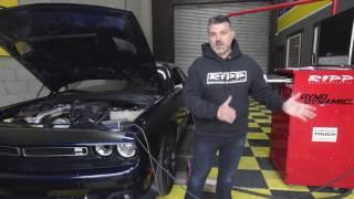2015 8spd V6 3.6 Dodge Challenger Dyno - RIPP Supercharged