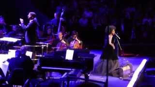 Laura Mvula Late Night Proms Live - Royal Albert Hall - Green Garden