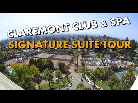 SIGNATURE SUITE TOUR - FAIRMONT CLAREMONT HOTEL & SPA in BERKELEY