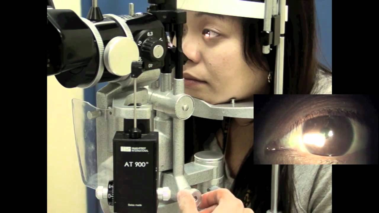 Part 3: Using a Slit Lamp - YouTube