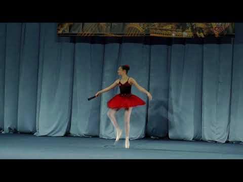 Стасько Ярина, м.І-Франківськ, варіація Кітрі за балету 'Дон Кіхот', 3акт