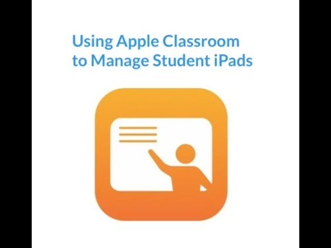 Managing Learning with Apple Classroom and iPads