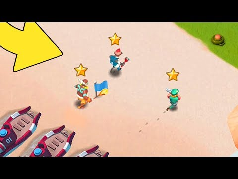 My Heroes Are ALL MAXED!! Boom Beach NEW Update Hero Gameplay! (Brick, Kavan, Everspark!)