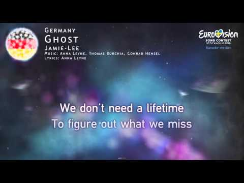 Jamie-Lee - Ghost (Germany) - [Karaoke version]