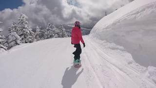 20180204志賀高原燒額山