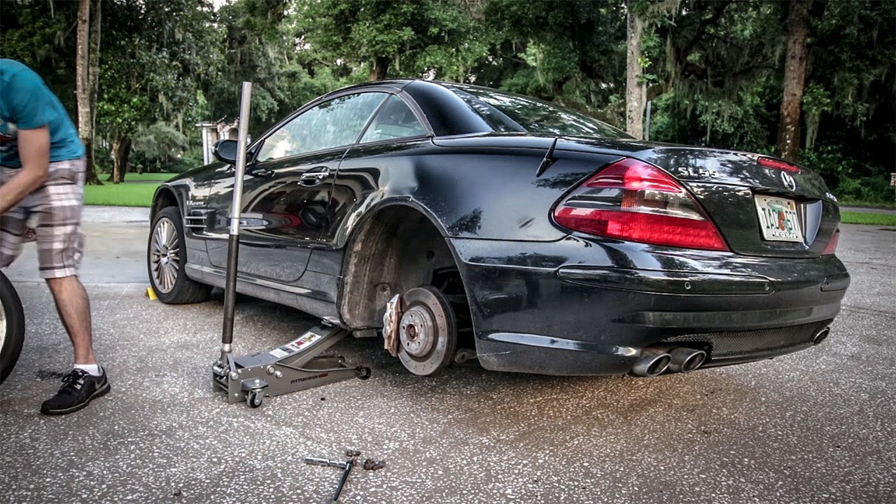 Why Won T These Stupid Wheels Fit Project Mercedes Benz S Class Pt 15