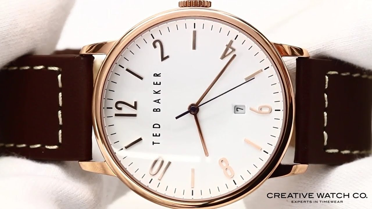 b268e99412995 Hands On With The Men s Ted Baker Watch TE1121 - YouTube
