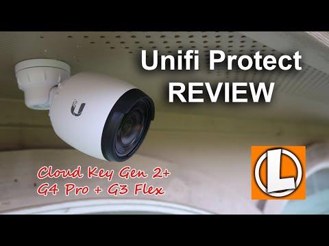 Unifi Protect Video Security System Review - Cloud Key Gen 2 Plus + G4 PRo + G3 Flex PoE Cameras