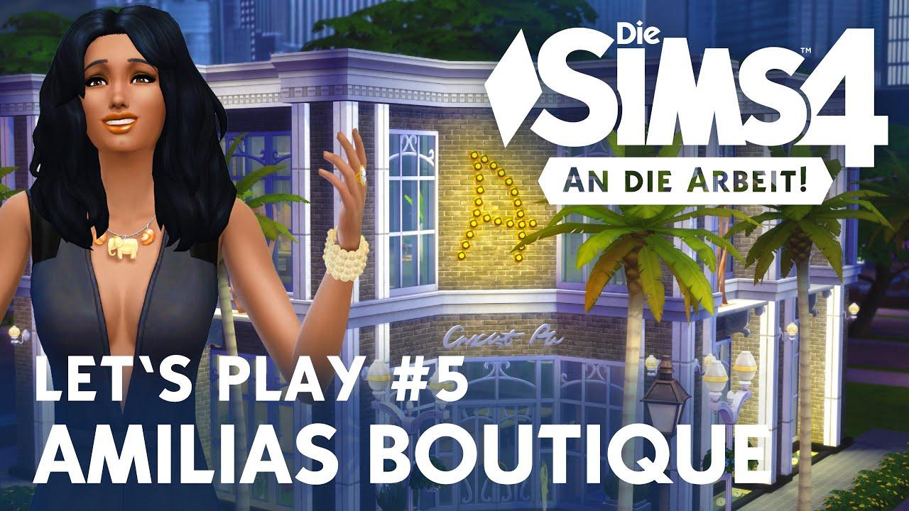 Die Sims 4 Lets Play Amilias Boutique 5 Einrichten Youtube